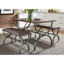 Liberty Furniture Monroe Dining 3 Piece Rectangular Table Set - Item Number: 327-CD-3RLS