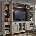 Liberty Furniture Morgan Creek Entertainment Center with Piers  - Item Number: 498-ENTW-ECP