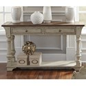Liberty Furniture Morgan Creek Sofa Table - Item Number: 498-OT1030
