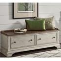 Liberty Furniture Morgan Creek Storage Hall Bench - Item Number: 498-OT47