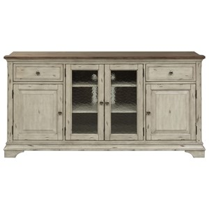 Liberty Furniture Morgan Creek Entertainment TV Stand