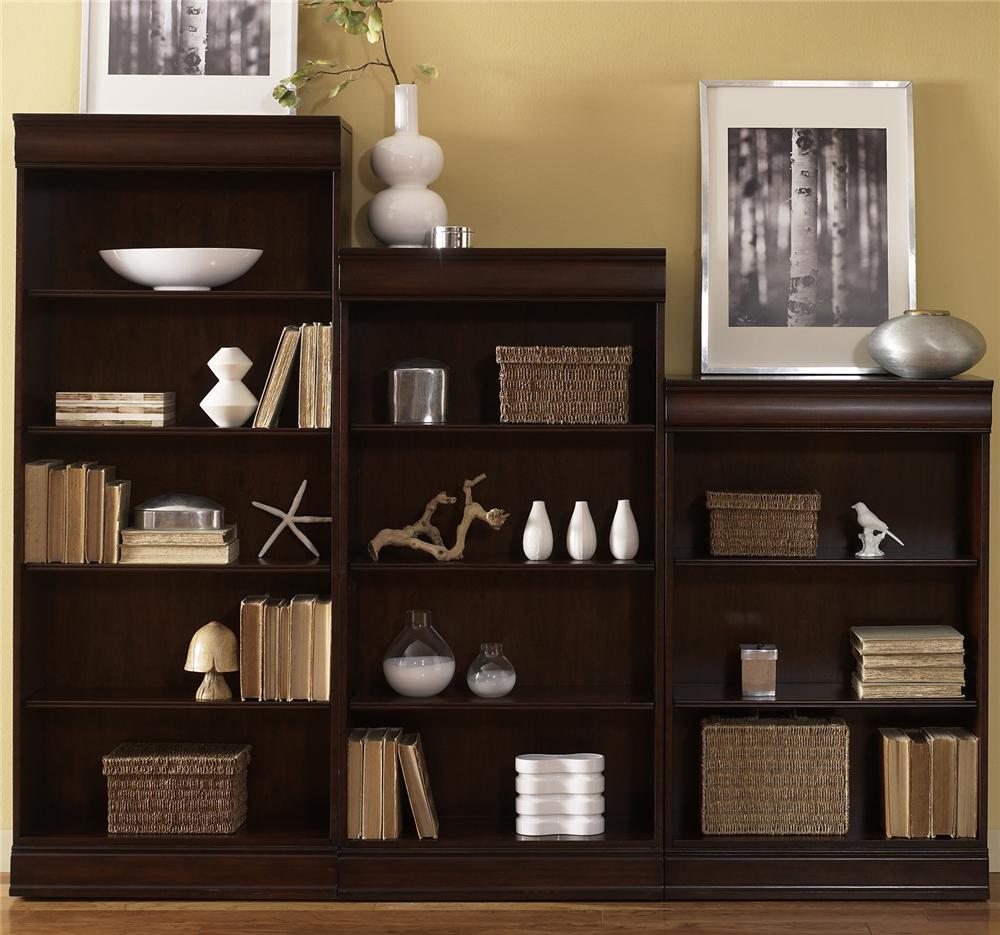 Liberty Furniture Louis Jr. Bookcase - Item Number: 101-HO3048+3060+3072