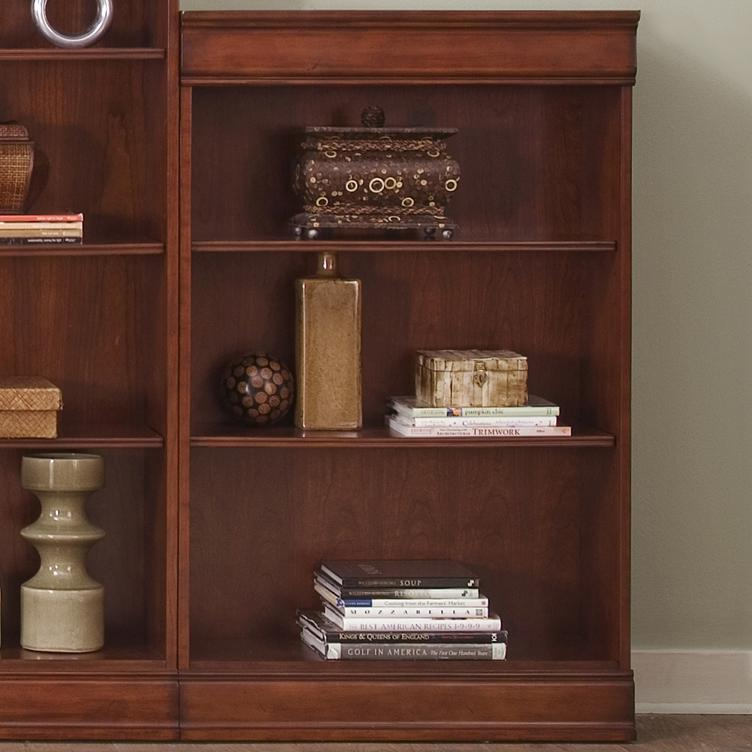 "Liberty Furniture Louis Jr Executive 48"" Bookcase  - Item Number: 101-HO3048-RTA"