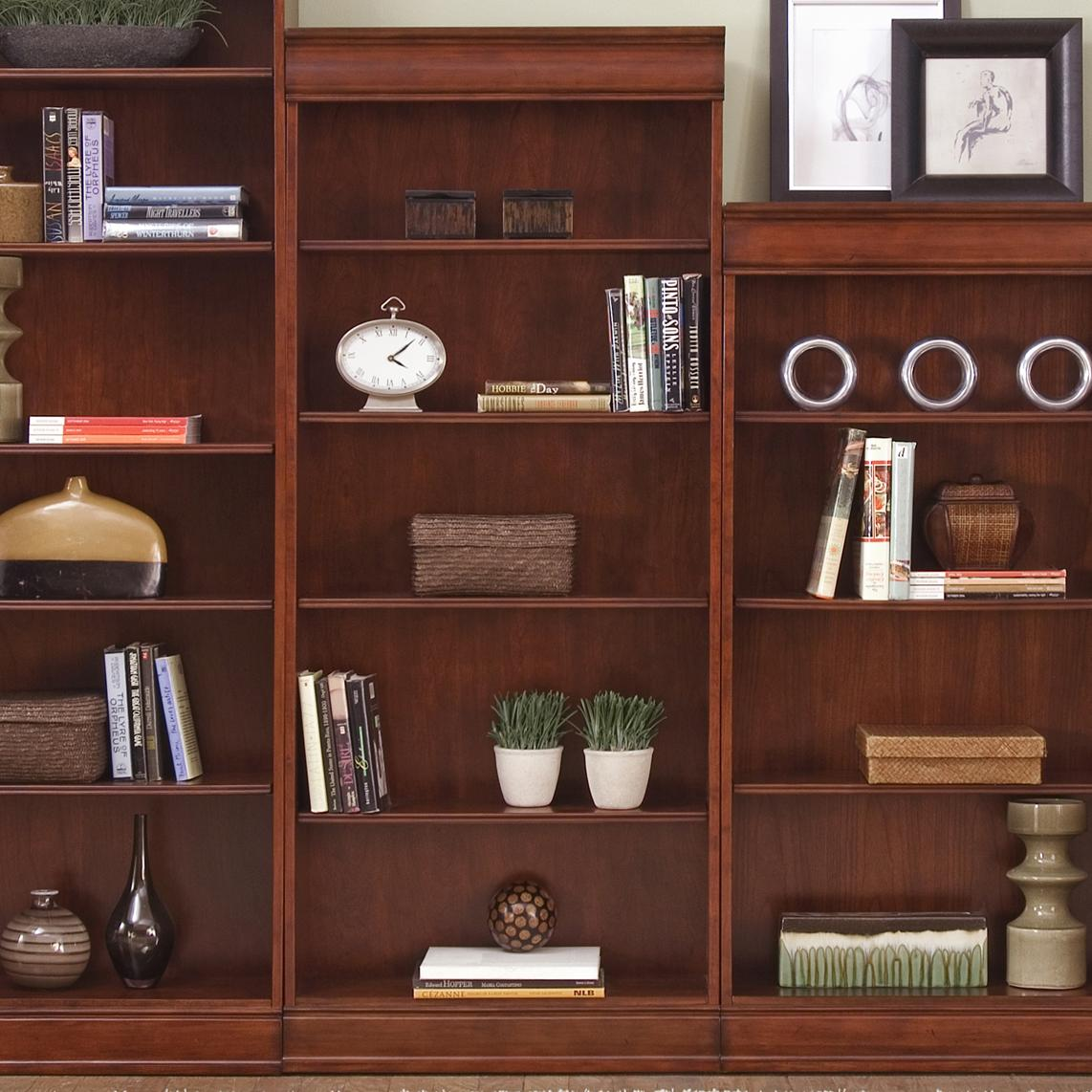 "Liberty Furniture Louis Jr. Executive 72"" Bookcase - Item Number: 101-HO3072-RTA"
