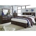 Liberty Furniture Newland King Bedroom Group - Item Number: 148-BR-KSBDM