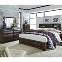 Liberty Furniture Newland Queen Bedroom Group - Item Number: 148-BR-QSBDMC