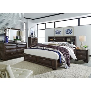 Liberty Furniture Newland Queen Bedroom Group