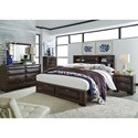 Liberty Furniture Newland Queen Bedroom Group - Item Number: 148-BR-QSBDMCN