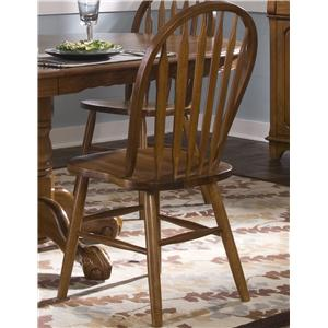 Vendor 5349 Nostalgia  Arrow Back Windsor Side Chair