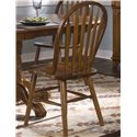 Vendor 5349 Nostalgia  Arrow Back Windsor Side Chair - Item Number: 10-C553S