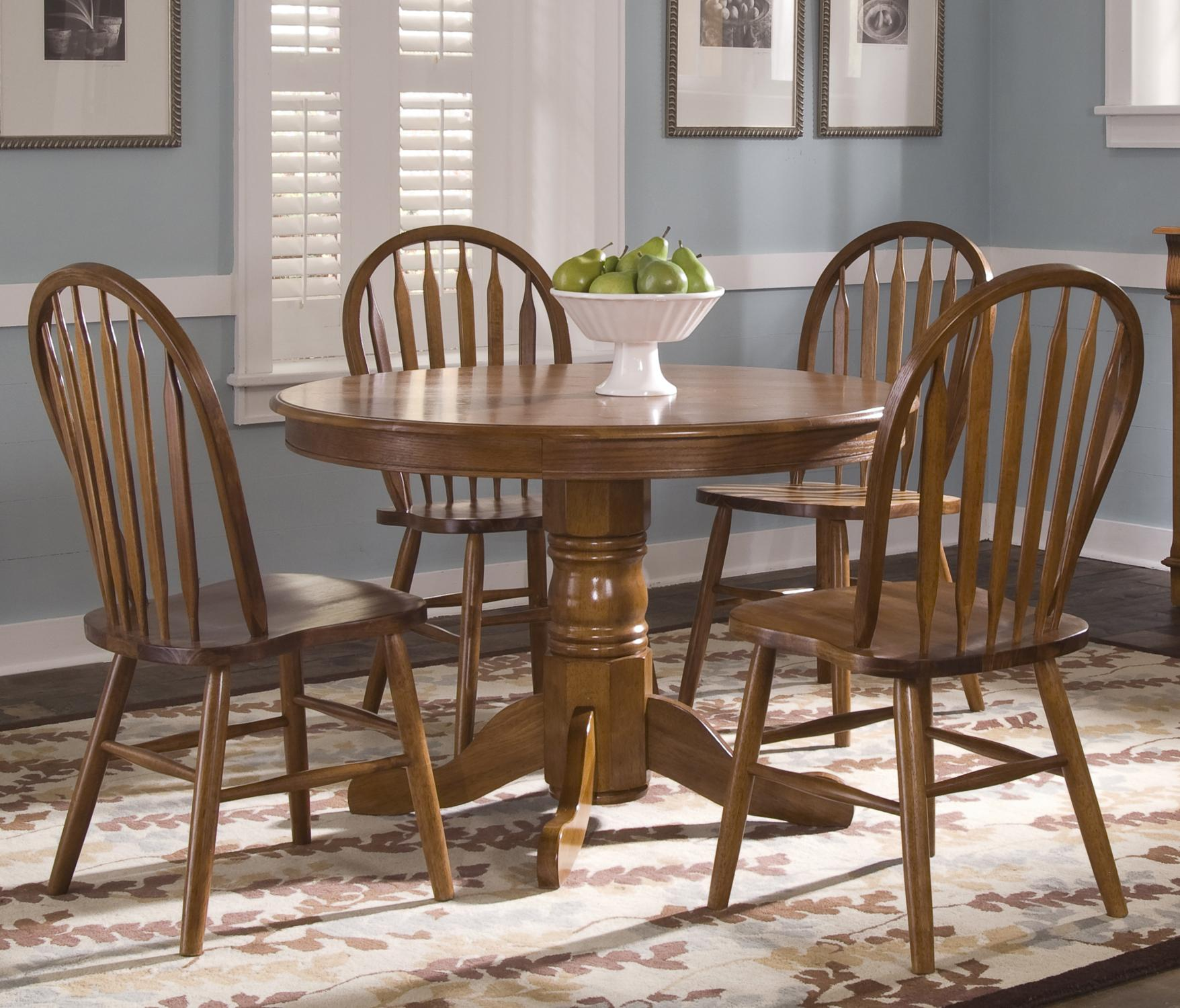 Liberty Furniture Nostalgia  Five Piece Dining Set - Item Number: 10-CD-SET22