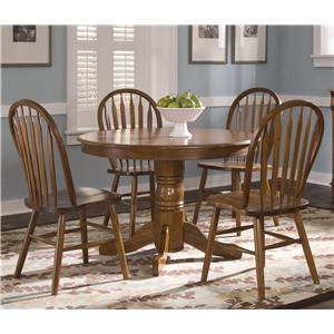 Liberty Furniture Nostalgia  Five Piece Dining Set