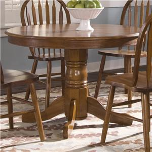 Liberty Furniture Nostalgia  Round Pedestal Table