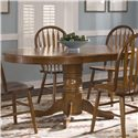 Liberty Furniture Nostalgia  Pedestal Table - Item Number: 10-P520+T520