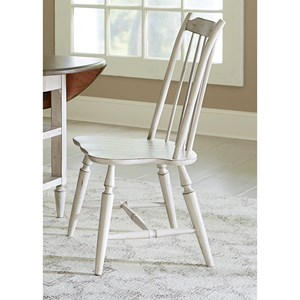 Vendor 5349 Oak Hill Dining Windsor Back Side Chair