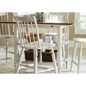 Vendor 5349 Oak Hill Dining Center Island Table - Item Number: 517-IT5454