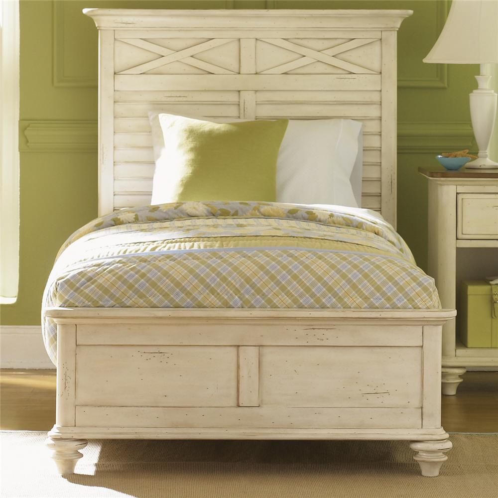 Liberty Furniture Ocean Isle  Queen Panel Bed - Item Number: 303-BR-SET78