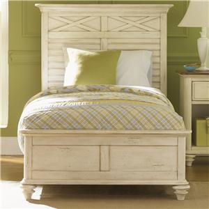 Vendor 5349 Ocean Isle  Queen Panel Bed