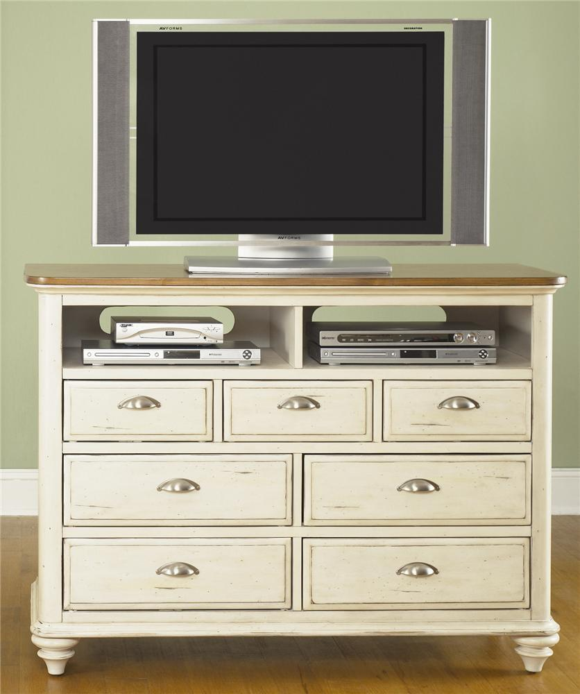Liberty Furniture Ocean Isle  Media Chest - Item Number: 303-BR45