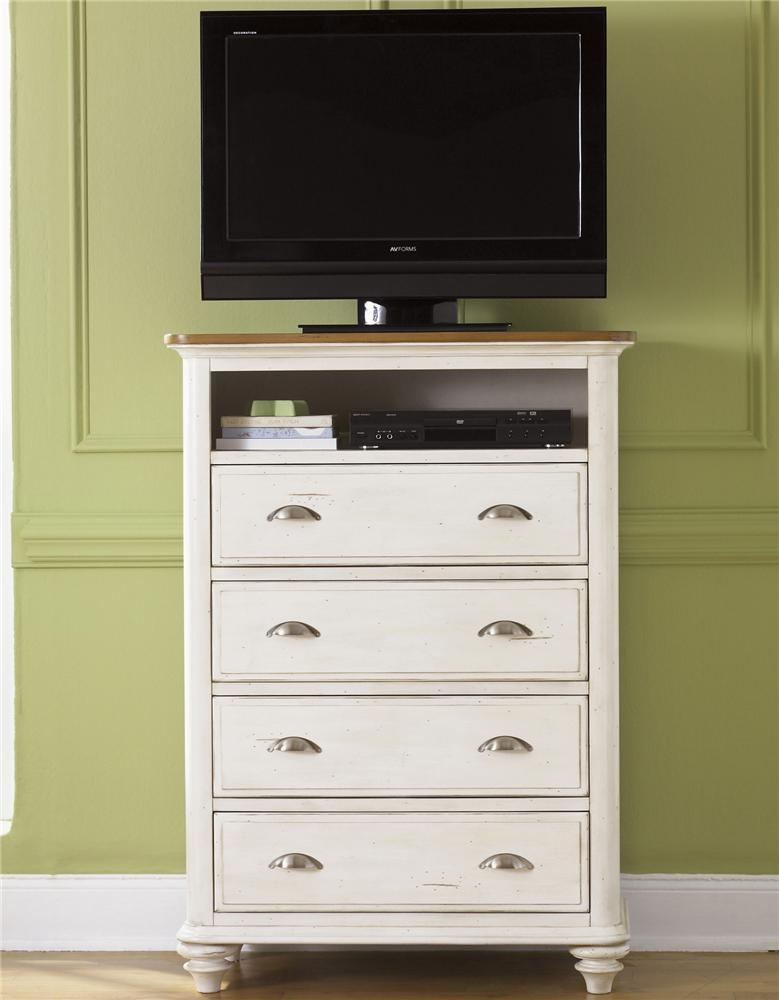 Liberty Furniture Ocean Isle  Youth 4 Drawer Media Chest - Item Number: 303-BR49