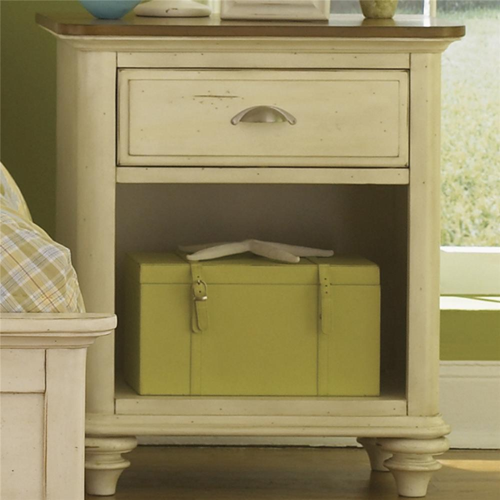 Liberty Furniture Ocean Isle  Youth 1 Drawer Nightstand - Item Number: 303-BR60