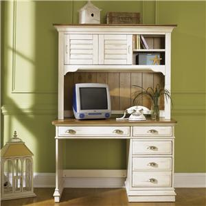 Vendor 5349 Ocean Isle  Student Desk & Hutch