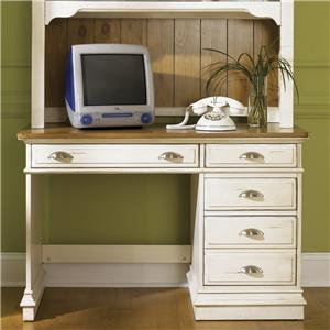 Liberty Furniture Ocean Isle  Single Pedestal Student Desk