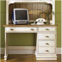 Liberty Furniture Ocean Isle  Single Pedestal Student Desk - Item Number: 303-BR70B