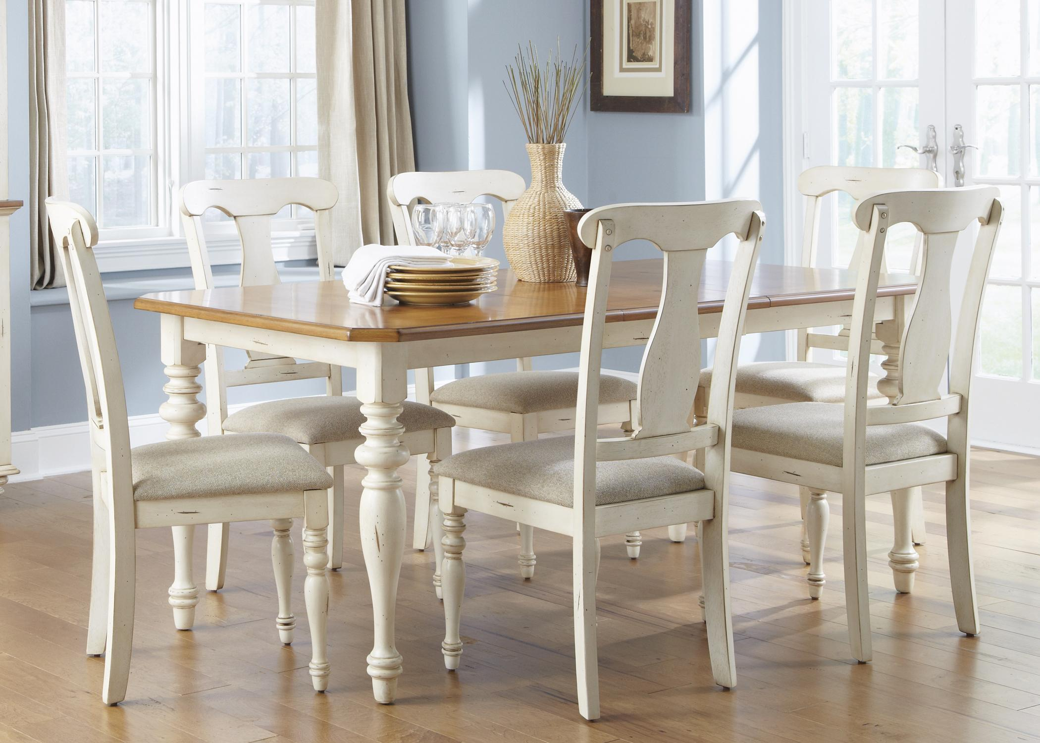 Superbe Liberty Furniture Ocean Isle 7 Piece Dining Set   Item Number: 303 CD