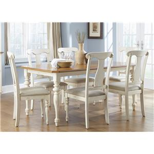 Liberty Furniture Ocean Isle  7-Piece Dining Set
