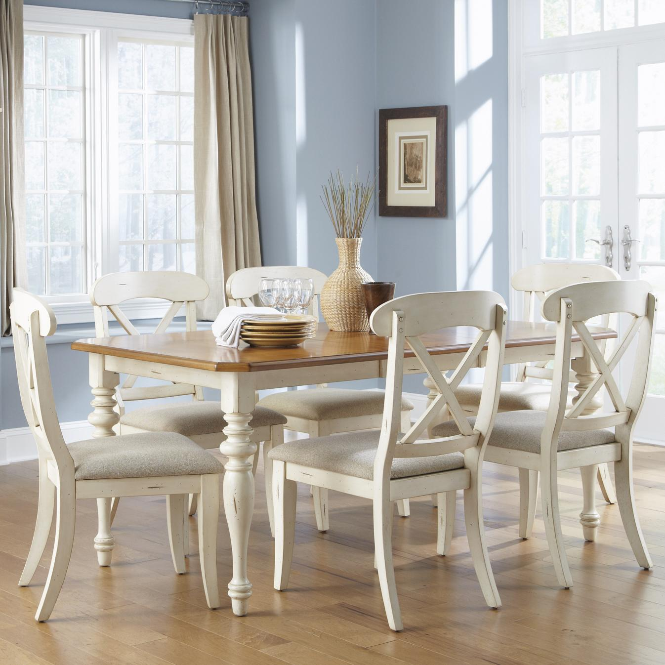 Liberty Furniture Ocean Isle  7-Piece Dining Set  - Item Number: 303-CD-SET432