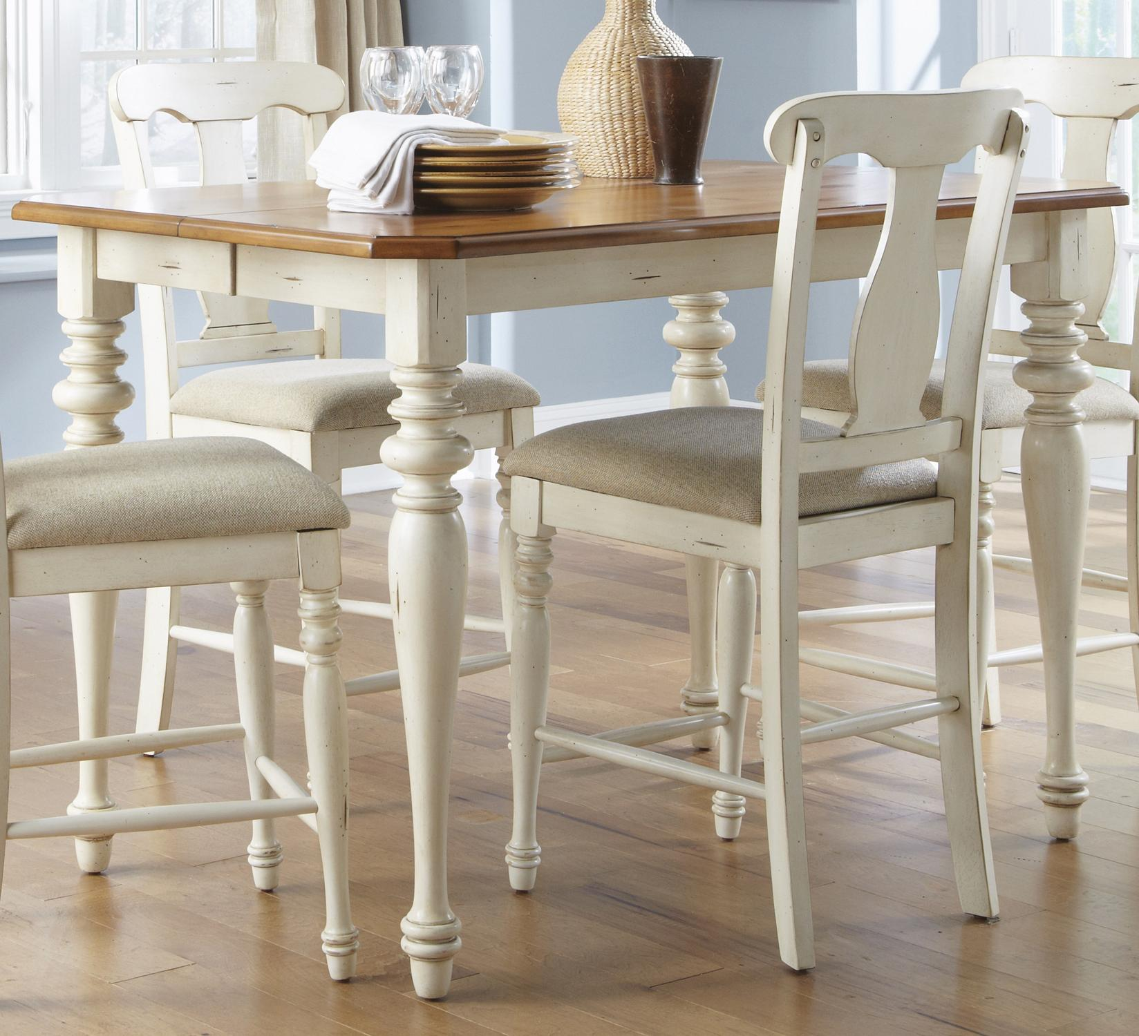 Ocean Isle Gathering Height Dining Table By Liberty Furniture At Rooms For Less