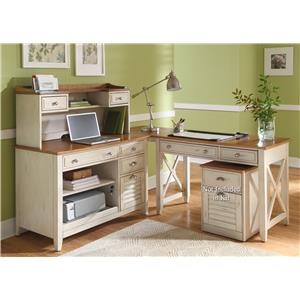 Liberty Furniture Ocean Isle  Complete Desk