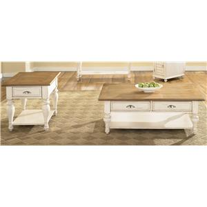 Vendor 5349 Ocean Isle  3 Piece Occasional Table Set