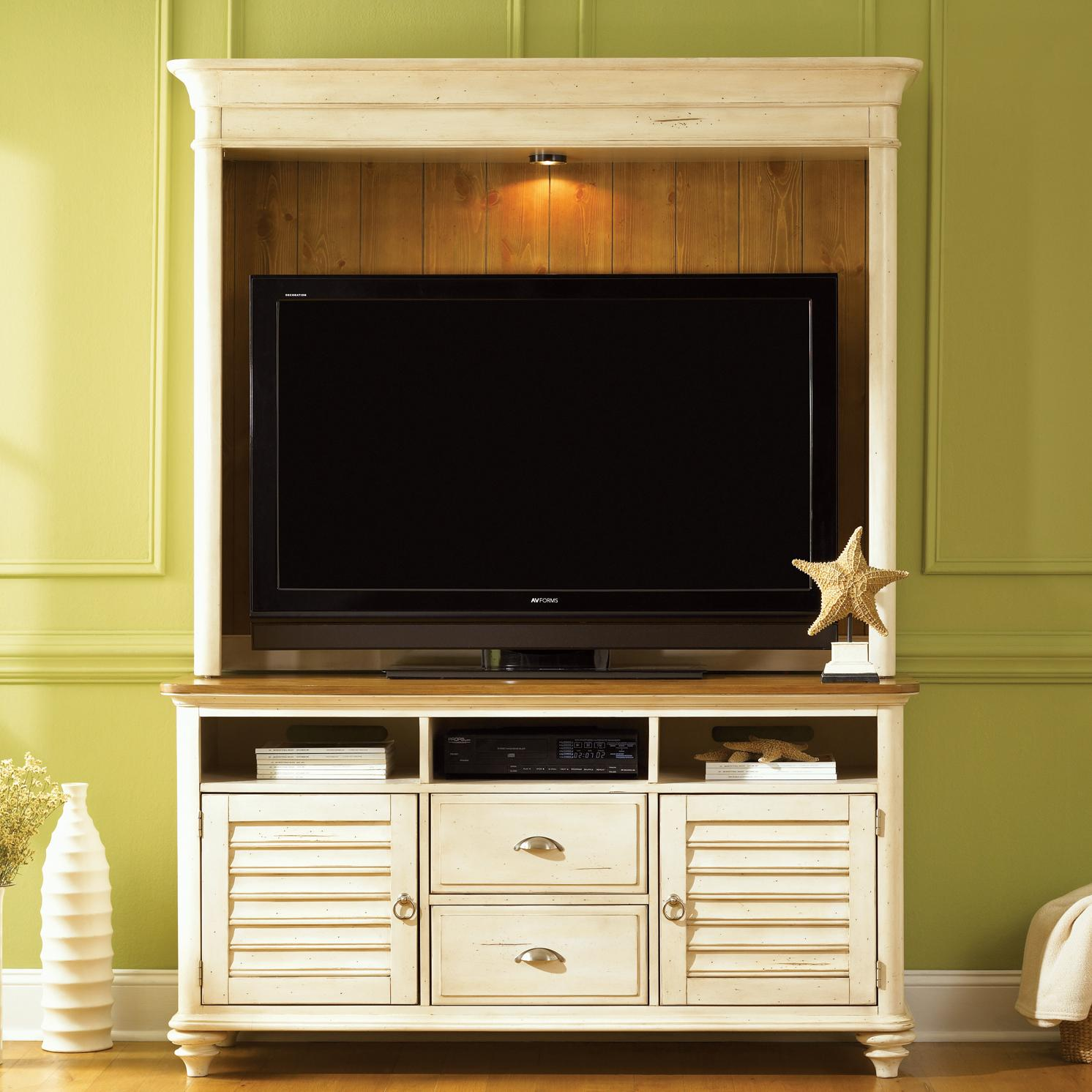 Liberty Furniture Ocean Isle  Entertainment Center - Item Number: 304-ENT-SET51