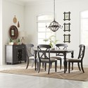Liberty Furniture Ocean Isle Dining Room Group - Item Number: 303G Dining Room Group 3