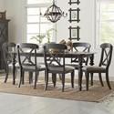 Liberty Furniture Ocean Isle 7-Piece Rectangular Table Set - Item Number: 303G-CD-7RLS