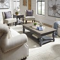 Liberty Furniture Ocean Isle 3-Piece Occasional Table Set - Item Number: 303G-OT-3PCS