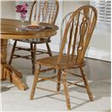 Liberty Furniture Old World Casual Dining Windsor Side Chair - Item Number: 18-C561S