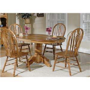 Liberty Furniture Old World Casual Dining Table & Chair Set