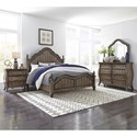 Liberty Furniture Parisian Marketplace King Bedroom Group - Item Number: 598-BR-KPSDMN