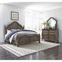 Liberty Furniture Parisian Marketplace Queen Bedroom Group - Item Number: 598-BR-QPSDM
