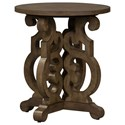 Liberty Furniture Parisian Marketplace Round End Table - Item Number: 598-OT1020