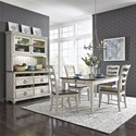 Liberty Furniture Parisian Marketplace Casual Dining Room Group - Item Number: 698 Dining Room Group 1