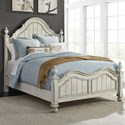 Liberty Furniture Parisian Marketplace Queen Poster Bed - Item Number: 698-BR-QPS