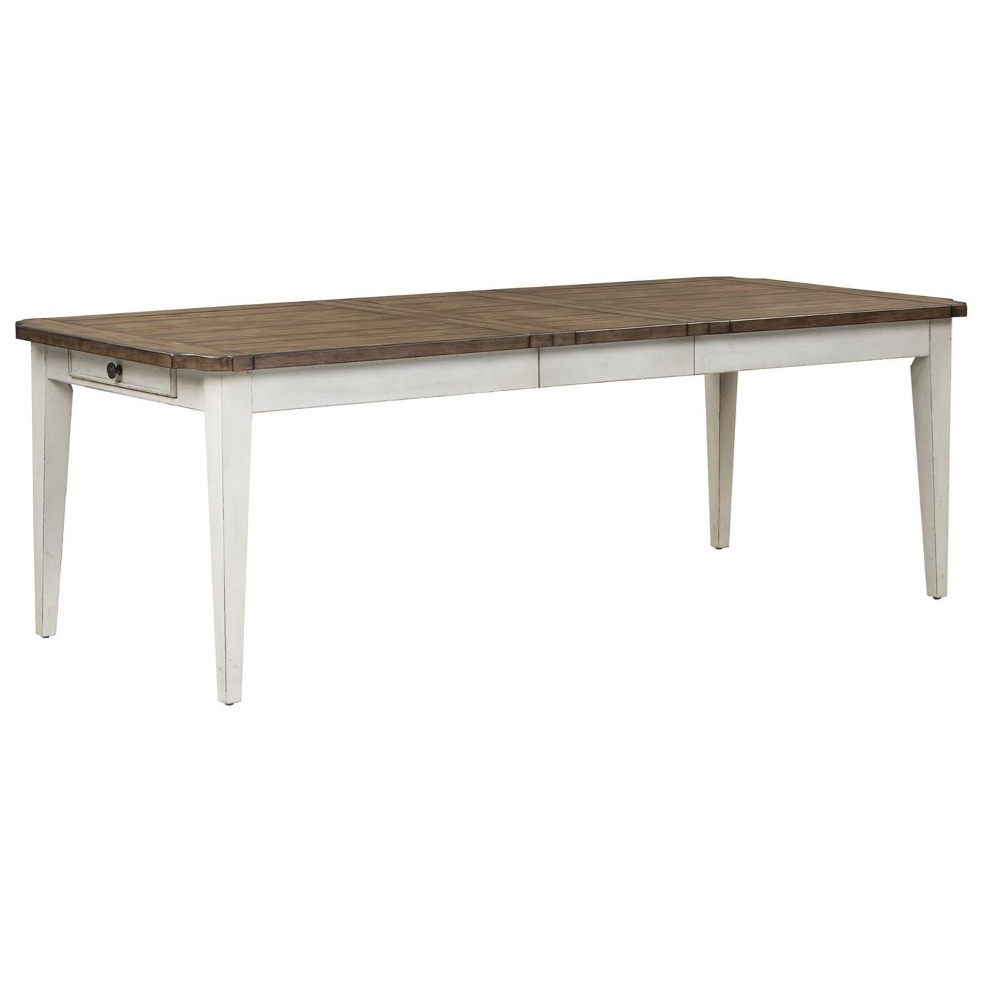Parisian Marketplace Rectangular Leg Table by Liberty Furniture at Johnny Janosik