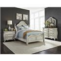 Liberty Furniture Parisian Queen 5 Pc Group - Item Number: 698 Queen 5 Pc Group