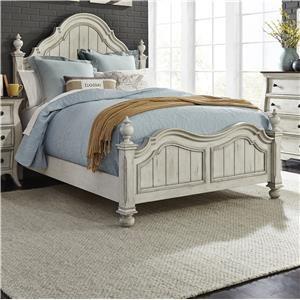 Liberty Furniture Parisian King Poster Bed