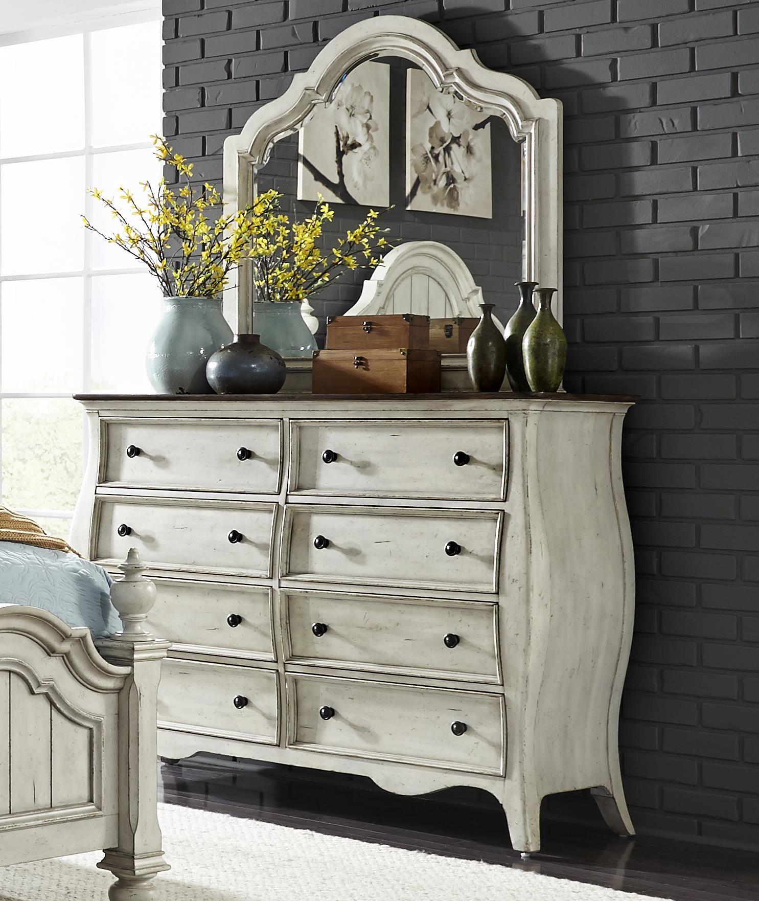 Liberty Furniture Parisian Bombay Dresser And Mirror Royal