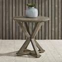 Liberty Furniture Parkland Falls Round End Table - Item Number: 172-OT1021